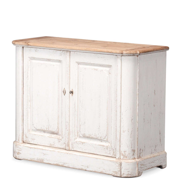Antique Whitewash Sideboard - Sarah Virginia Home