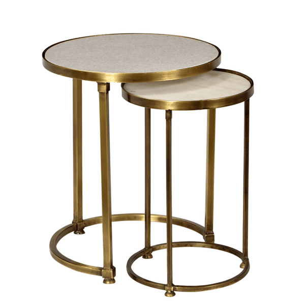 Clara Nesting Tables - Sarah Virginia Home