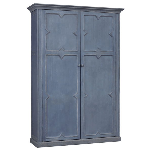 Ocean Blue Cabinet - Sarah Virginia Home