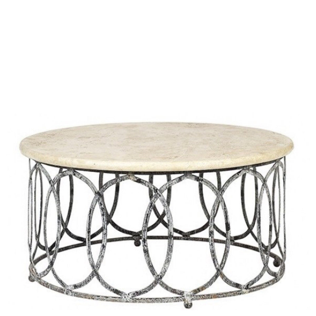 New Orleans Coffee Table (Circle) - Sarah Virginia Home