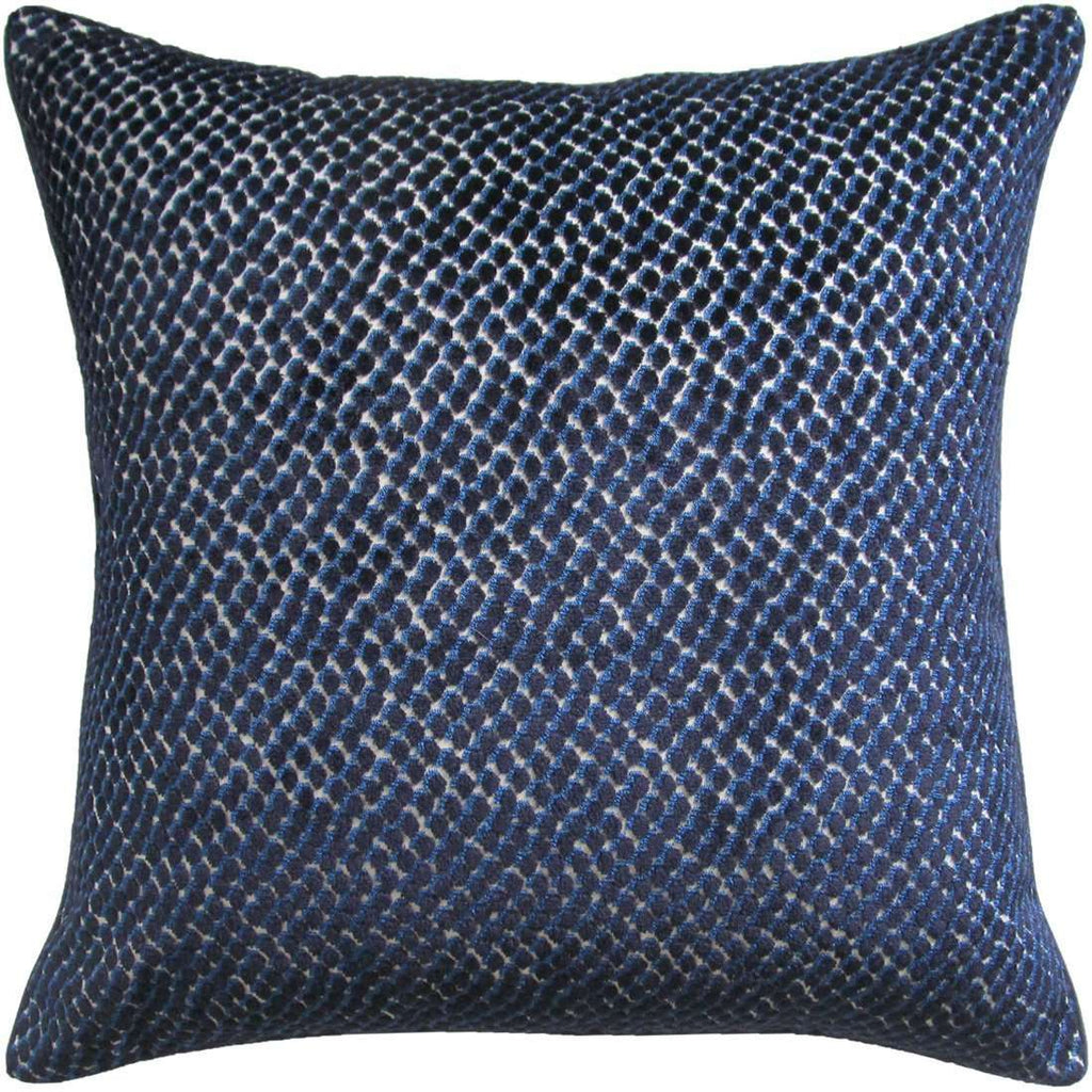 Jazzy Pillow (Navy) - Sarah Virginia Home