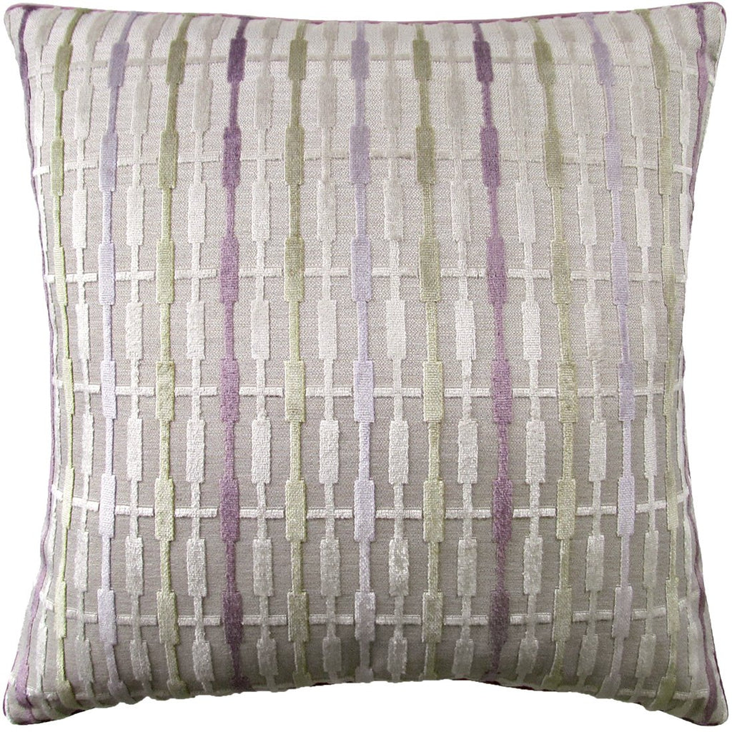 Lora Throw Pillow (Lilac) - Sarah Virginia Home