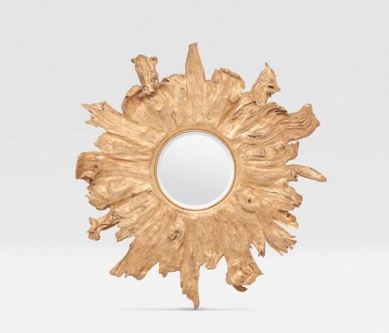 Floris Mirror (Gold) - Sarah Virginia Home - 1