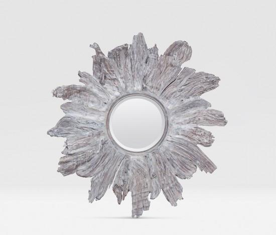 Floris Mirror (Silver) - Sarah Virginia Home - 1