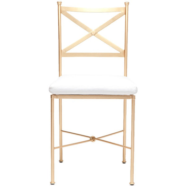 Kimberly Chair Gold (Indoor Outdoor) - Sarah Virginia Home
