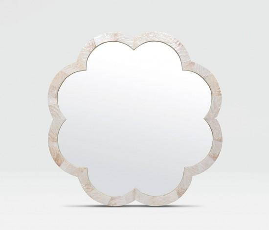 Fiona Flower Mirror (Kabibe Shell) - Sarah Virginia Home