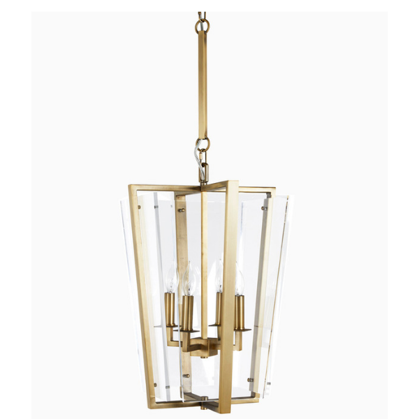 Melissa Lantern (Brass) - Sarah Virginia Home