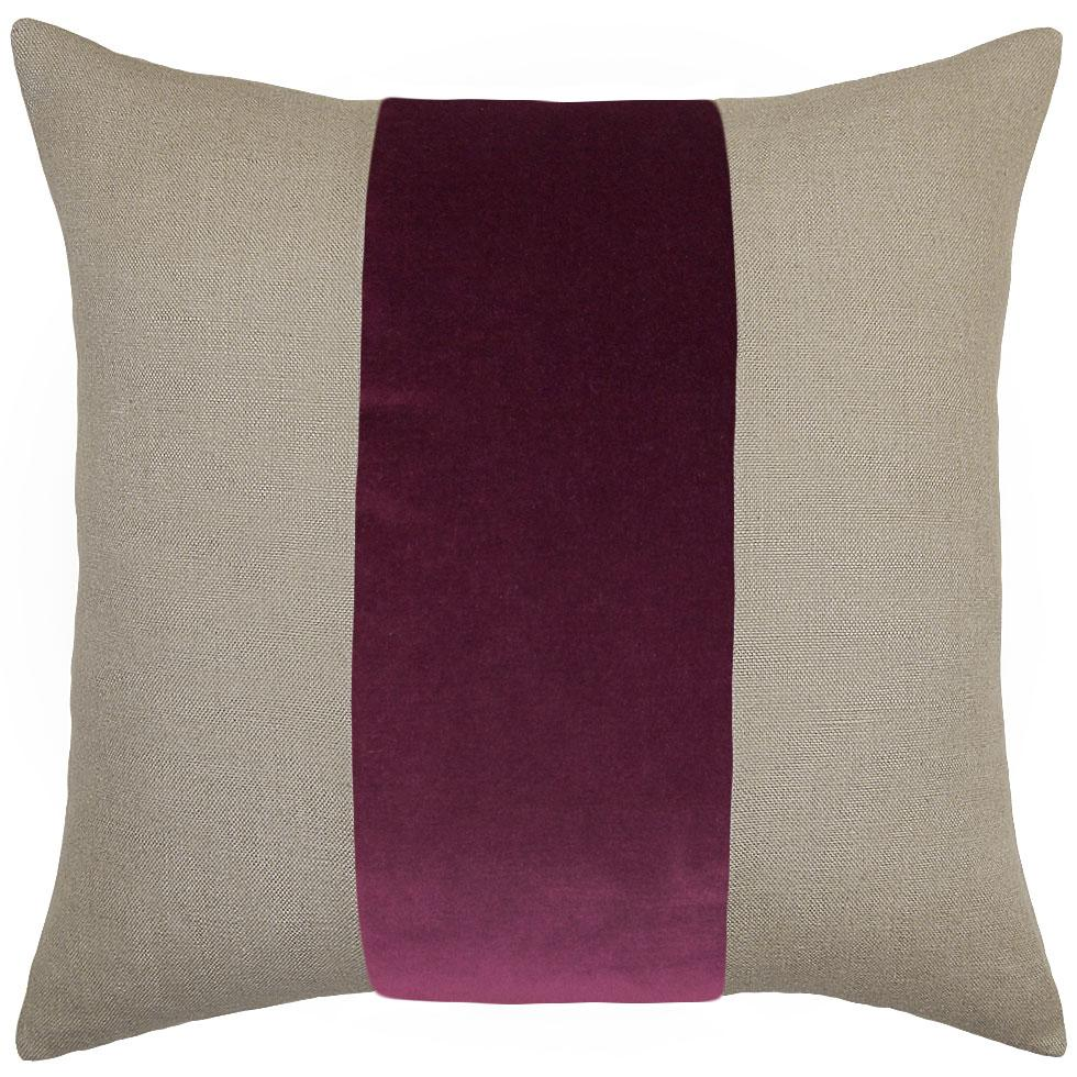 Raspberry Velvet Ming Pillow - Sarah Virginia Home