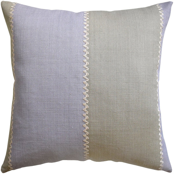 Color Block Throw Pillow (Lavender) - Sarah Virginia Home