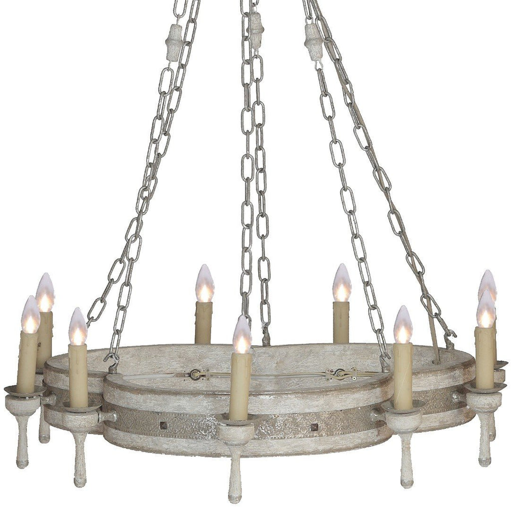 Arthur Vintage Chandelier - Sarah Virginia Home
