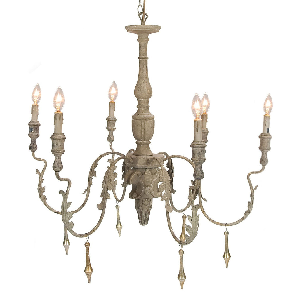 Charlemagne Chandelier - Sarah Virginia Home