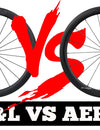 What is the different between AERO series and FL series Wheelset?