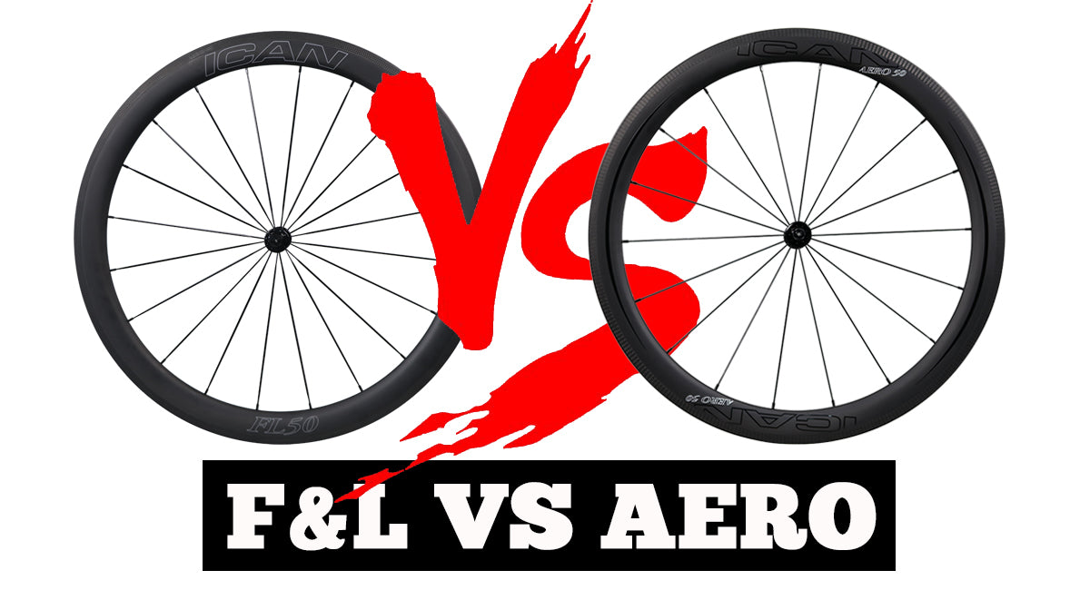 AERO series wheels VS FL series Wheels