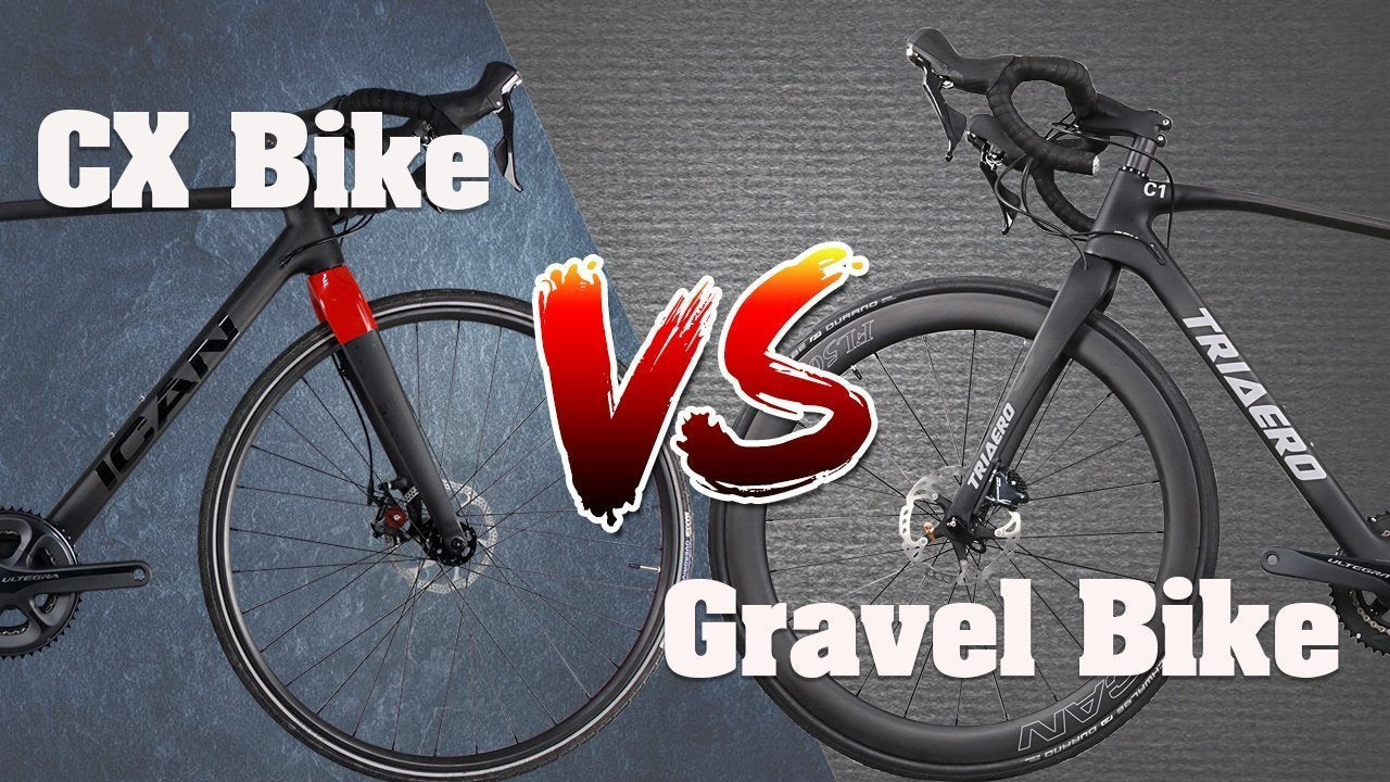 The Difference Between a Gravel Bike and a Cyclocross bike