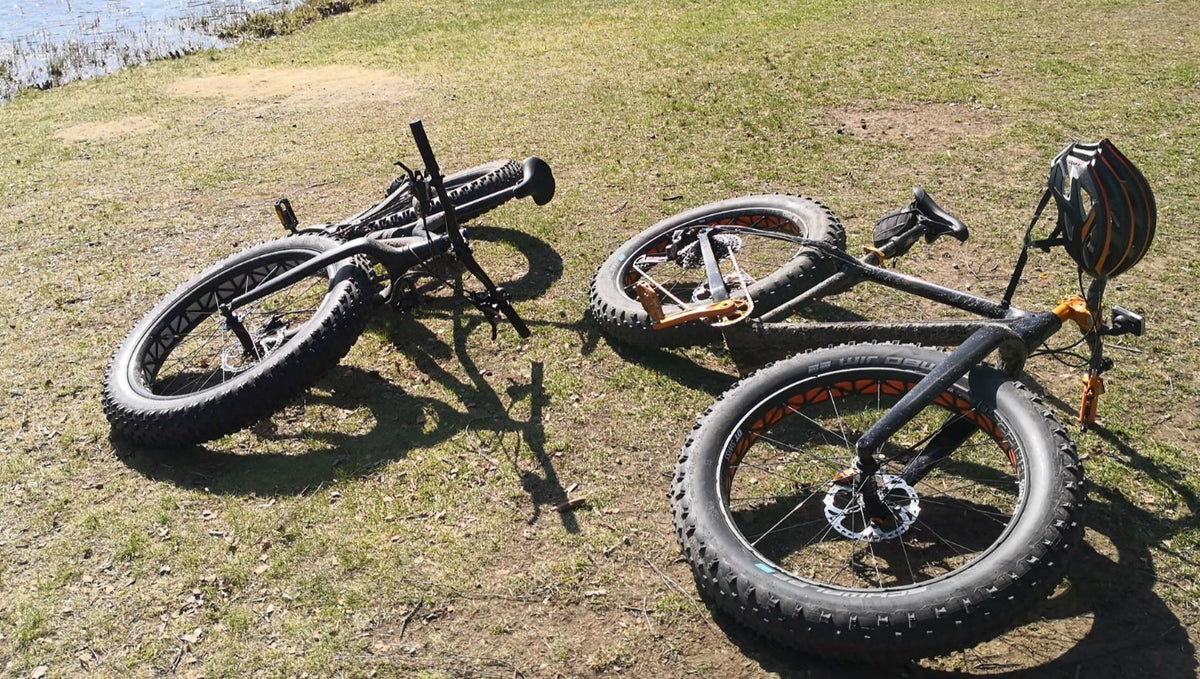 Riding a fat bike can be very hard?