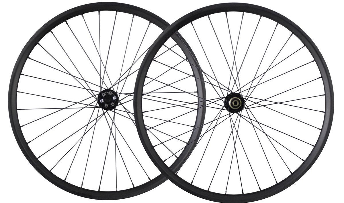 Looking to upgrade your biking experience? Let the 29er carbon wheelset handle it!