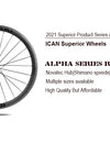 The best choice for affordable series road wheelsets:Alpha Series