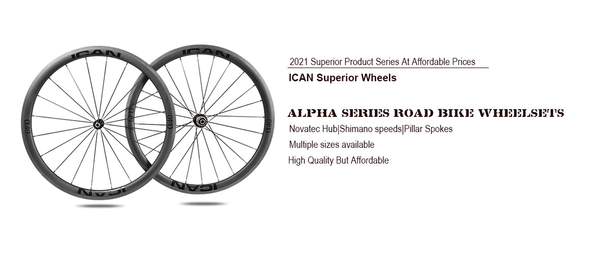 Alpha Series Road Bike Wheelsets