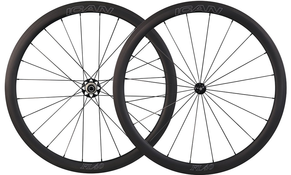 ICAN 4Omm F&L wheelset — An excellent wheelset at a very competitive price