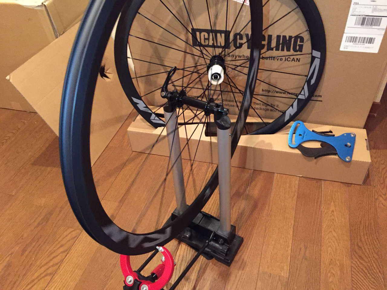 icancycling test Wheel Tension