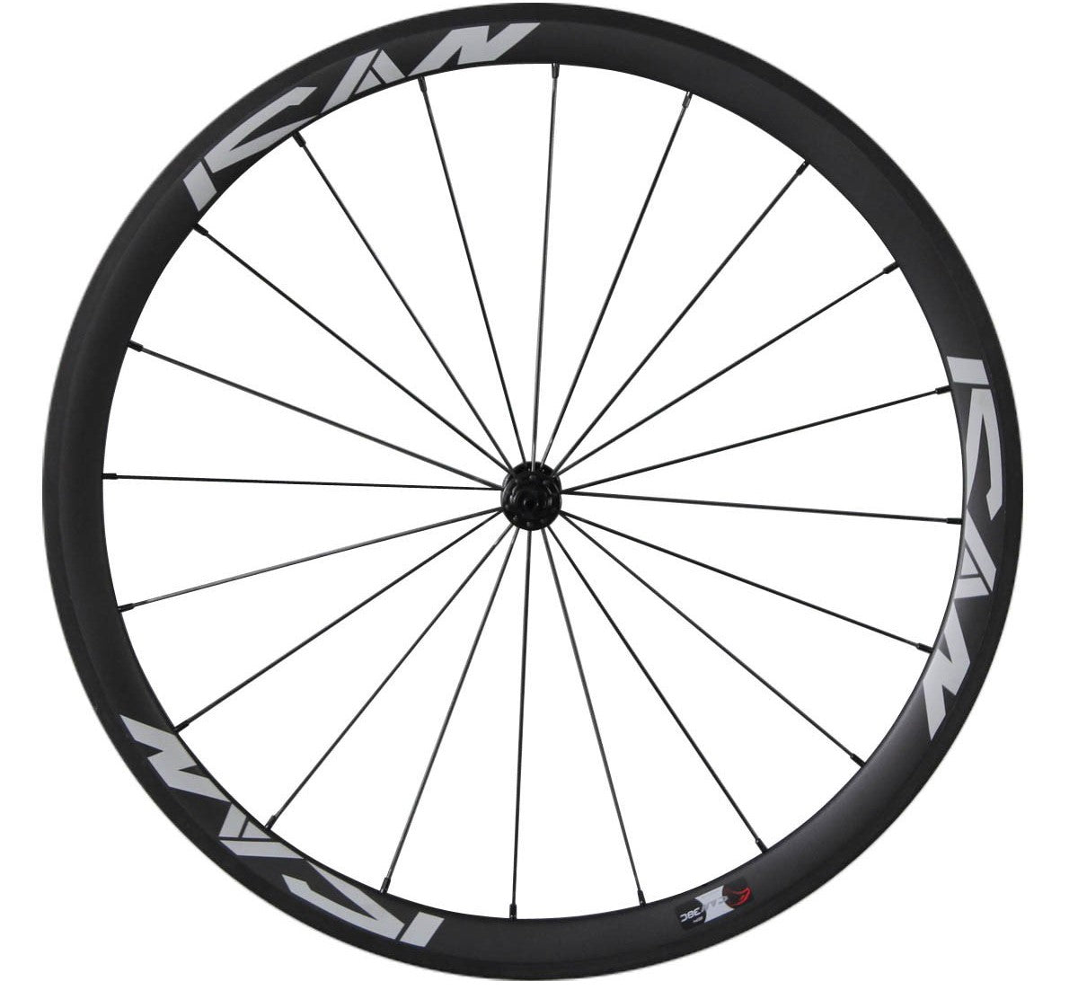 Set di ruote da 38 mm con raggi Sapim CX-Ray Icancycling