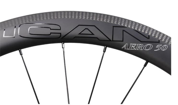 Mid section rim icancycling wheelset