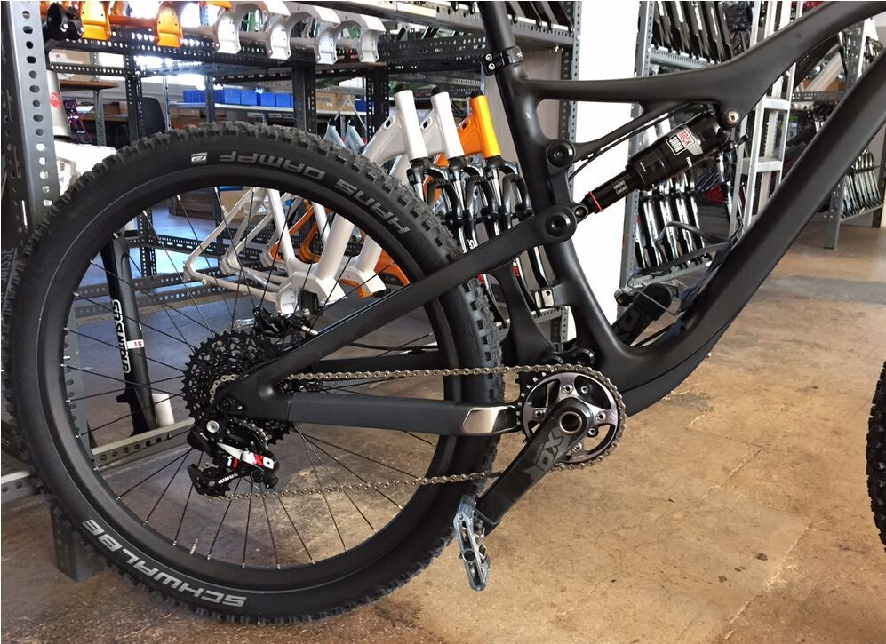 650B All Mountain Carbon Suspension Frame 150mm Travel