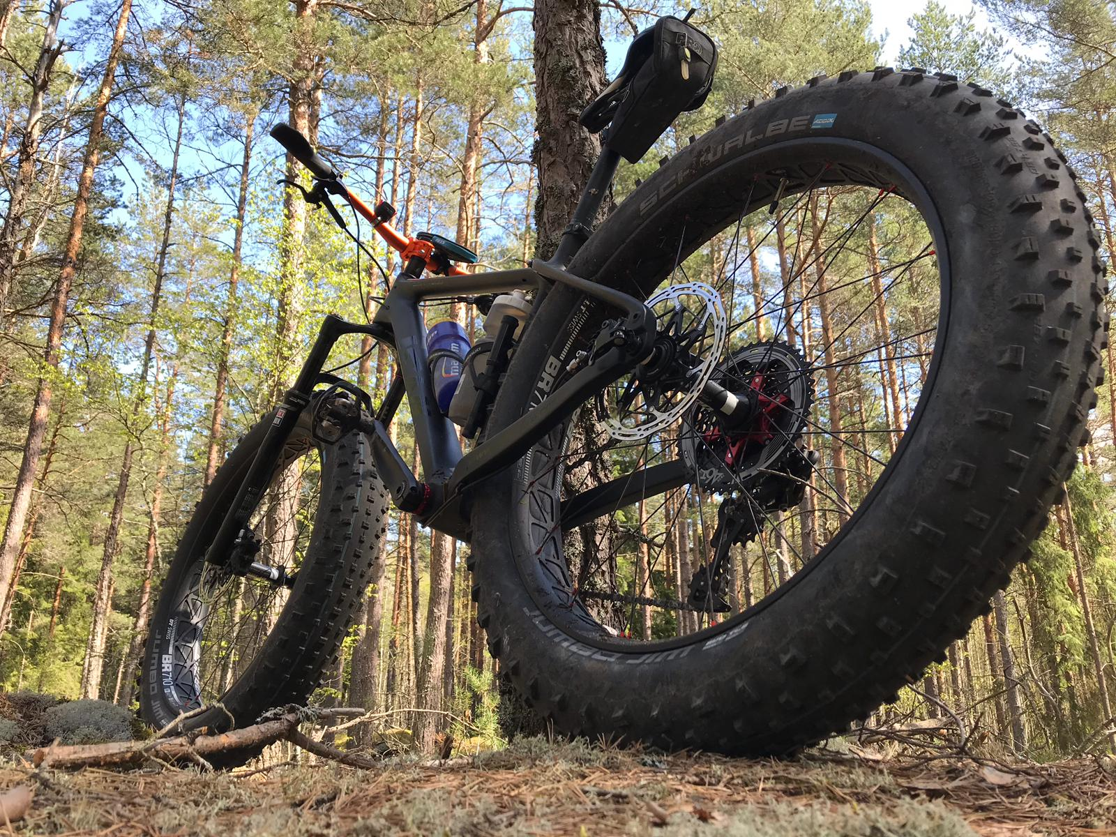 icancycling sn01 carbon fatbike