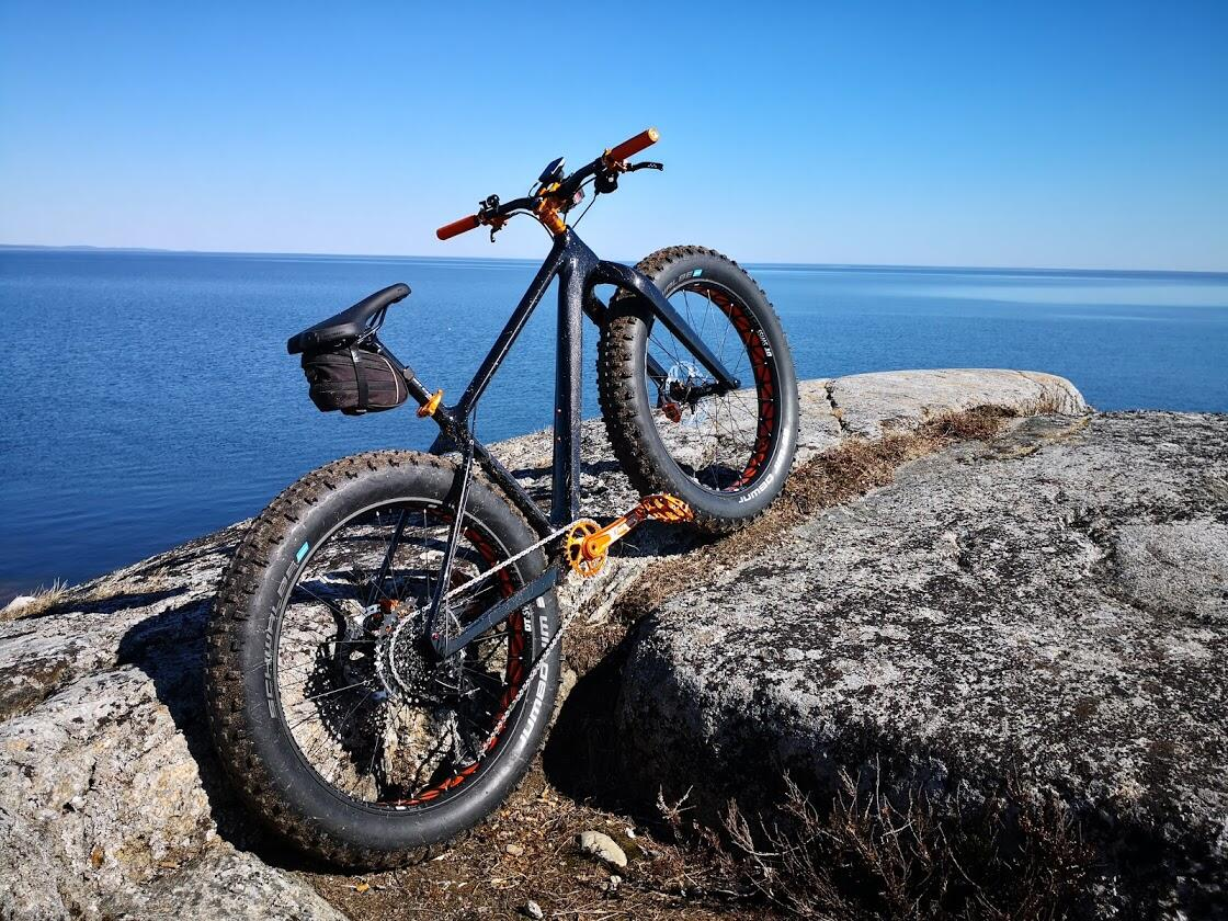SN01 ICANYCLING FATBIKE CARBON