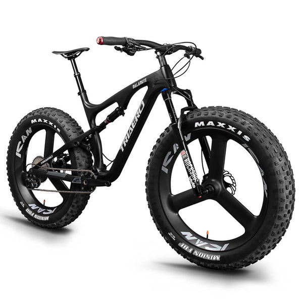26er Suspension Fat Bike Snow Bike SN04 con juego de ruedas 3s Tri Spoke 1