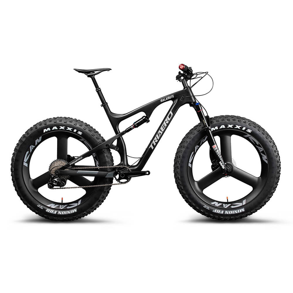 26er Suspension Fat Bike Snow Bike SN04 with 3s Tri Spoke Wheelset 1