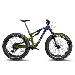 Carbon Fiber Toray T700 Fat Bike Rainbow SN04