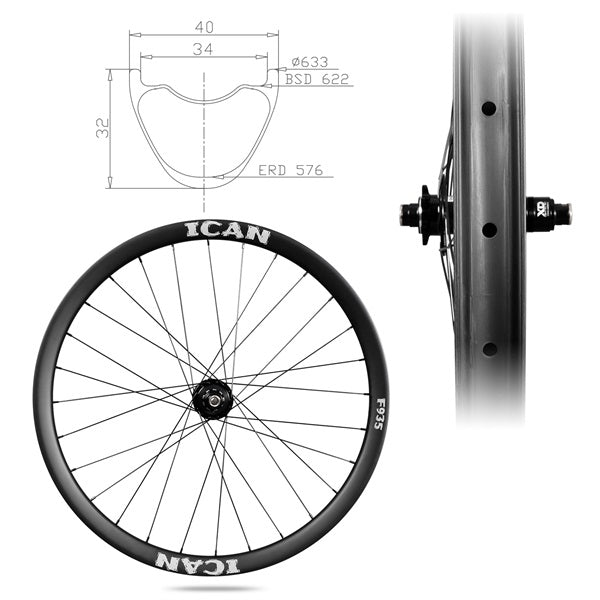 29er MTB Trail Wheels F935