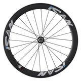 ICAN 50mm Carbon Road Bike Wheelset Sapim CX-Ray Spokes Only 1460g ( Upgraded Version Wheelset )