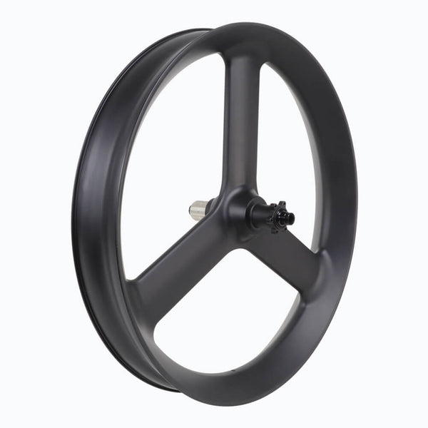 3 spoke 90mm Wide  Fat bike 3S wheel Clincher Tubeless Ready
