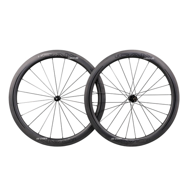 ICAN AERO 50 DT240s/350s Road Bike Wheelset