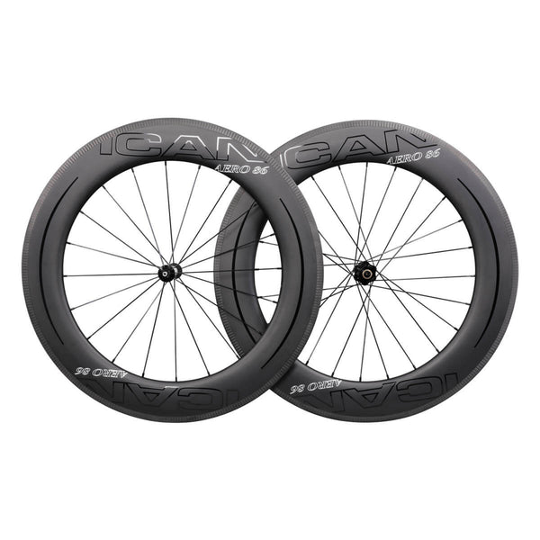 ICAN AERO 86 DT240s/350s Road Bike Wheelset