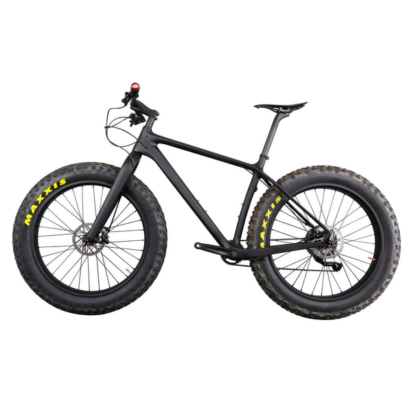 Carbon 26er Fat Bike Hardtail Snow Bike SN01 Fat Bicycle with Shiman0 Groupset