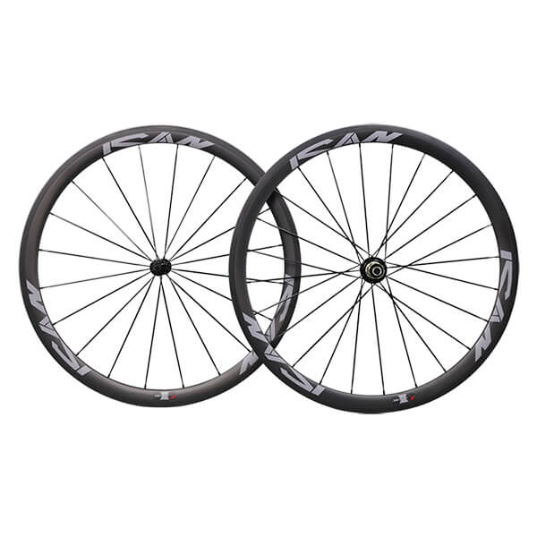 ICAN 38C Clincher carbon road wheels