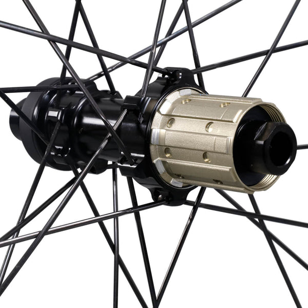 ICAN Carbon Road Disc Wheelset AERO 46 Disc wheelset Novatec 411/412SB disc hubs QR or Thru axle available