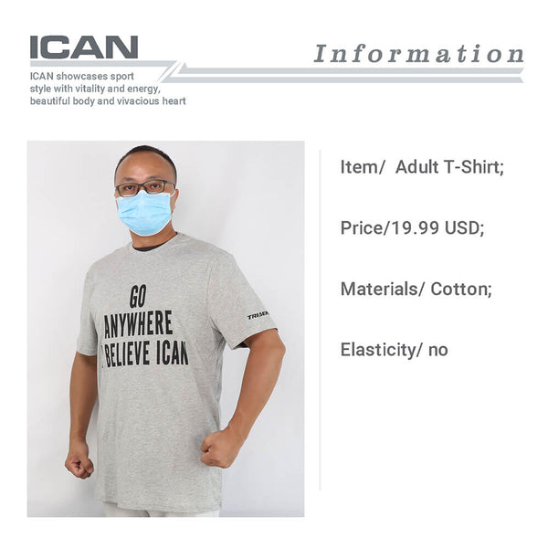ICAN Short Sleeve T-shirt