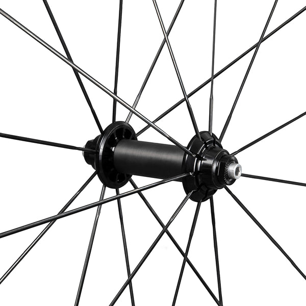 ICAN NOVA series carbon road bike wheels clincher tubeless ready front hub