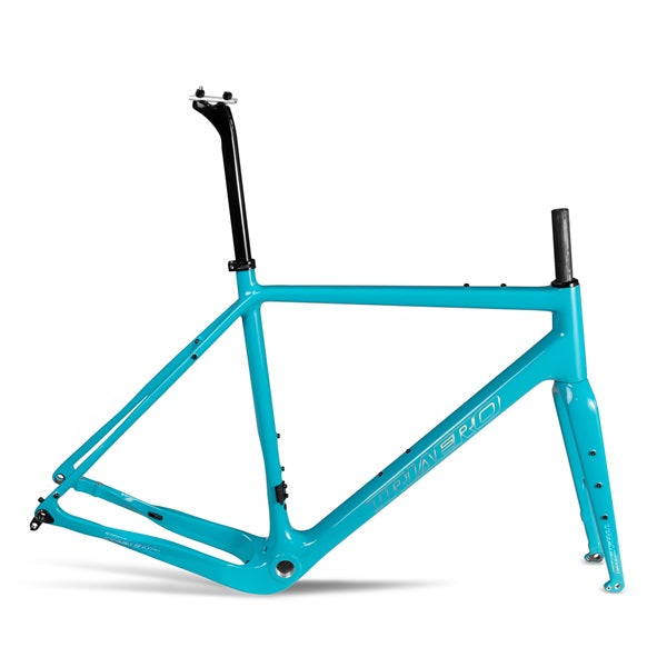 X-Gravel Bike Frame Green