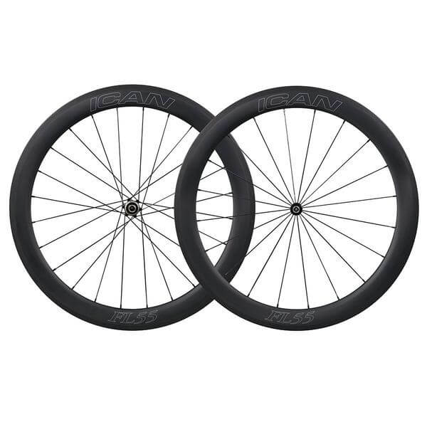 55mm Straight Pull Wheelset Fast & Light Series