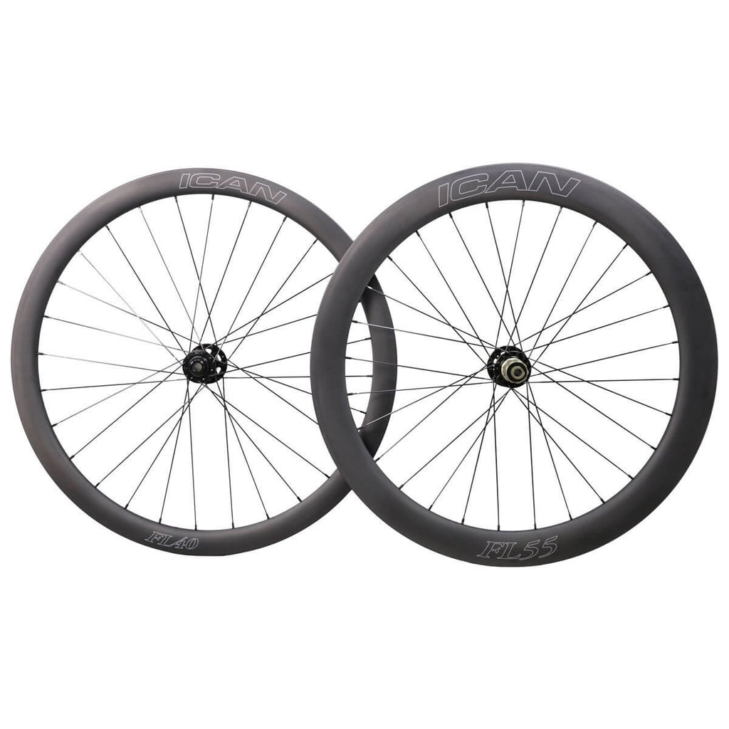40/55mm Disc Wheelset Fast & Light Series - icancycling