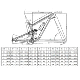 27.5er Plus Carbon Dual Suspension MTB Boost Trail Frame