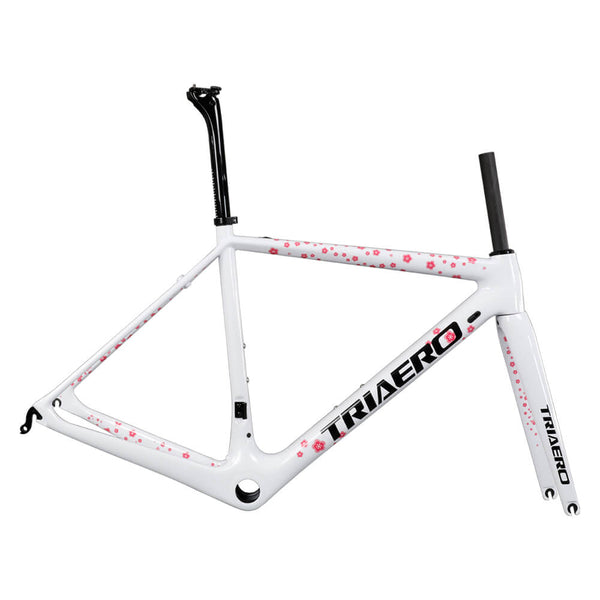 Super Light Road Bike Frame A2 white