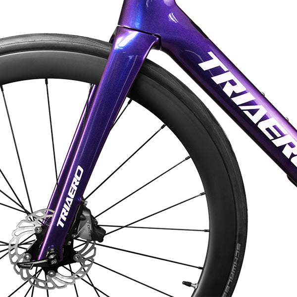 TRIAERO carbon road disc bike A9 discoloration painting
