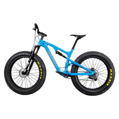Carbon Full Suspension Fat Bike