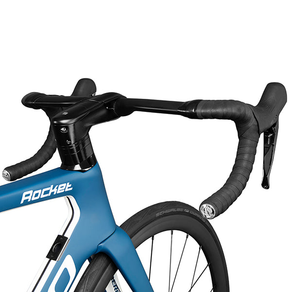 Triaero carbon road disc bike A9 Blue painting Shimano R8000 GROUPSET